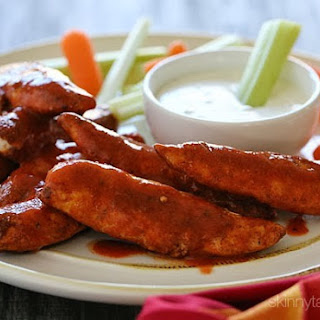 Skinny Buffalo Chicken Strips