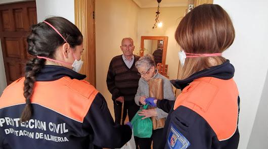 Protección Civil de Diputación, la logística de la solidaridad