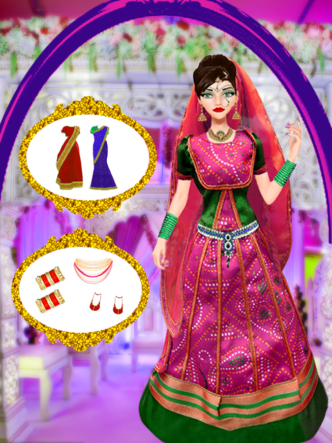 Indian Wedding Salon Fashion Doll Salon Games Android Apps On - Barbie hairstyle design game