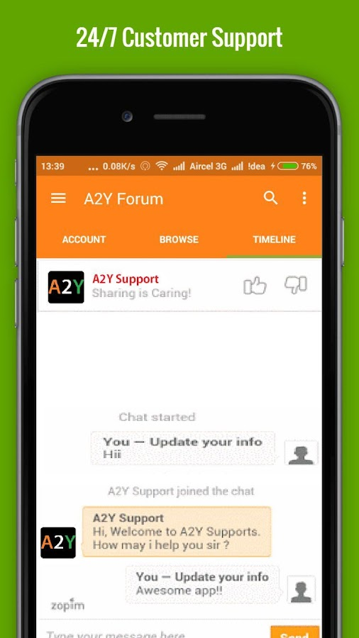 A2Y Notifier - Deals & Coupons- screenshot