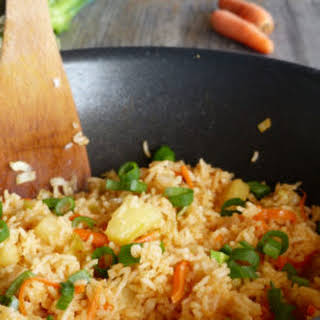 Easy Pineapple Fried Rice.