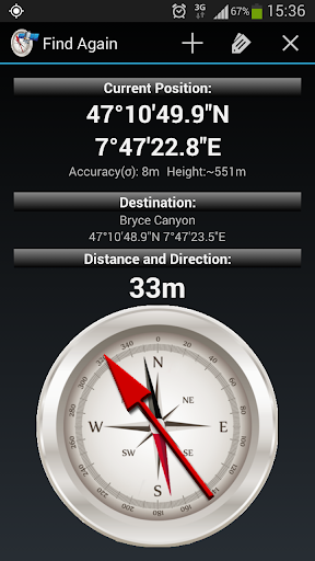 Find Again - GPS Compass