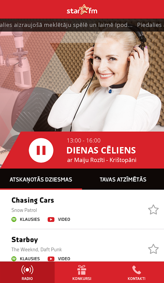 Star FM Latvija- screenshot