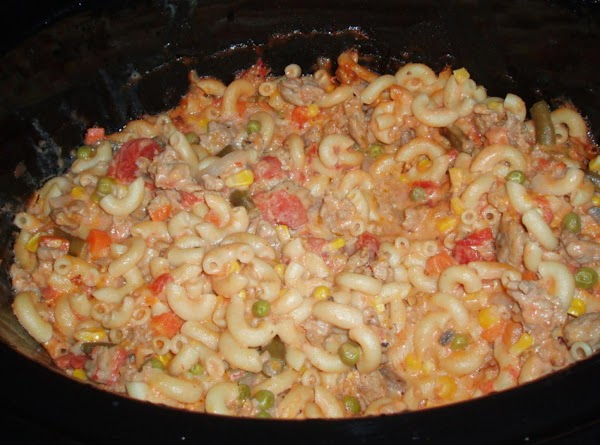 add to crock pot and let cook for three hours on low.this picture is...