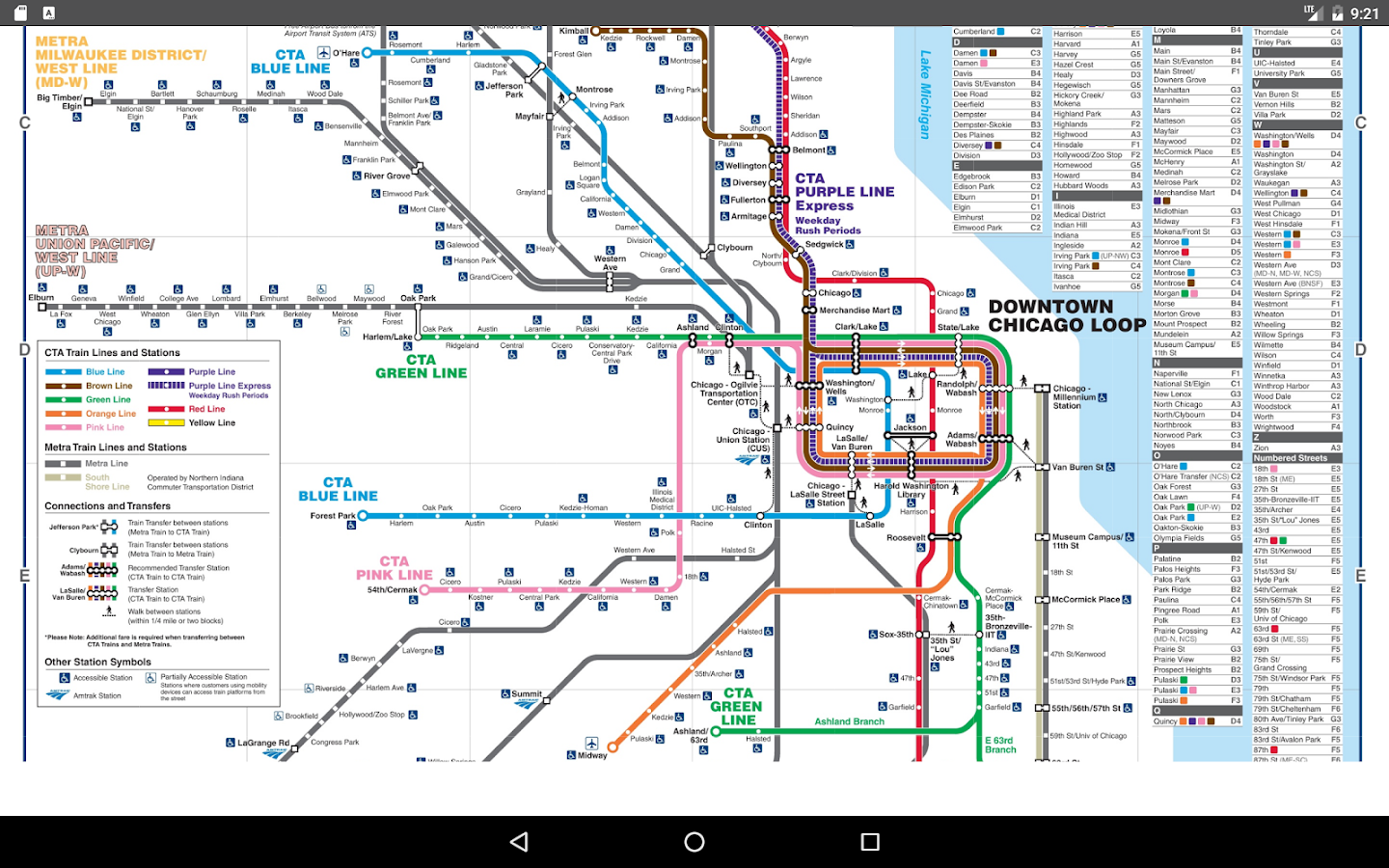 chicago subway map  screenshot. chicago subway map   android apps on google play