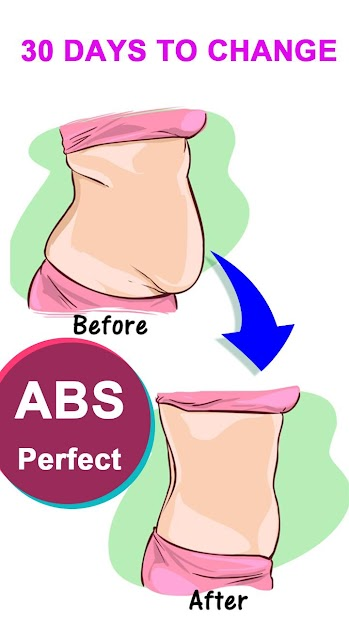 Flat Stomach Workout for Female Android App Screenshot