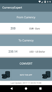 CurrencyExpert - náhled