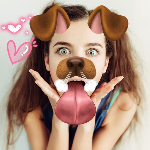 Doggy Face Filter for Snapchat Icon