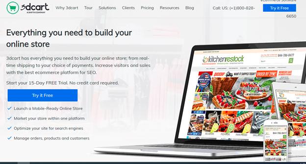 3dcart homepage