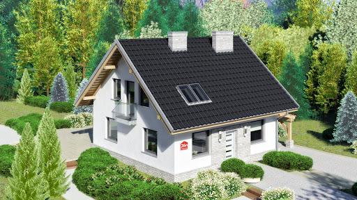 projekt Dom przy Cyprysowej 26 N