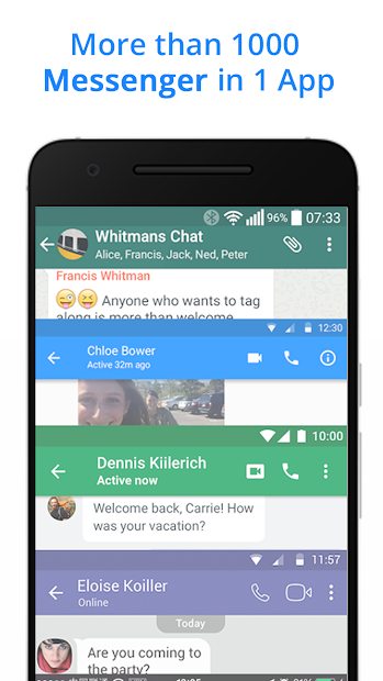 Messenger for Messages,Chat,Video,Text,Call ID Android App Screenshot
