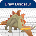 How to Draw a Dinosaur icon