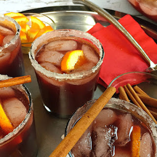 Spiced Red Beet Sangria.