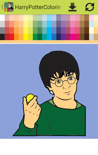 Colouring Book Harry Potter