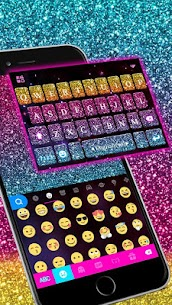 Color Glitter Keyboard 1.0 MOD for Android 1