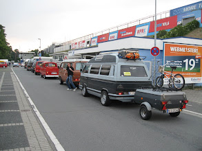 Photo: Ankunft, die Gemüter kochen über^^