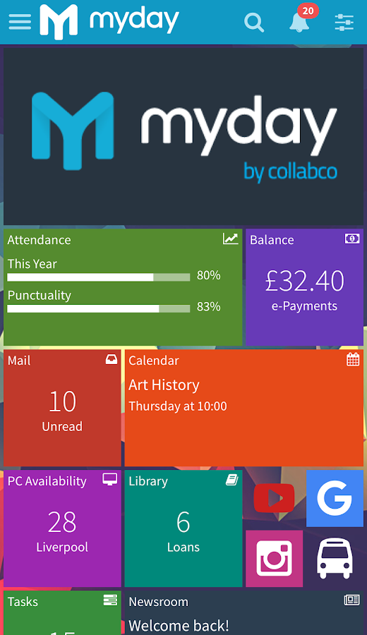 myday- screenshot