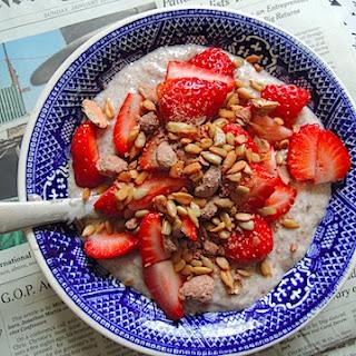 Chia Seed Greek Yogurt Pudding.
