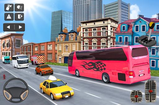 Coach Bus Simulator Game: Bus Driving Games 2020 apktram screenshots 4