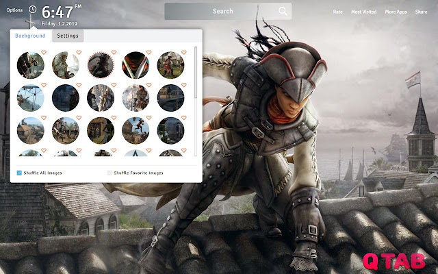 Assassins Creed 3 Wallpapers Fullhd New Tab