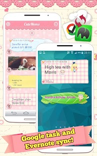 Cute Memo: Cloud Sticky Notes- screenshot thumbnail