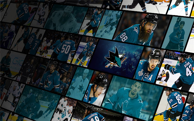 San Jose Sharks Themes & New Tab