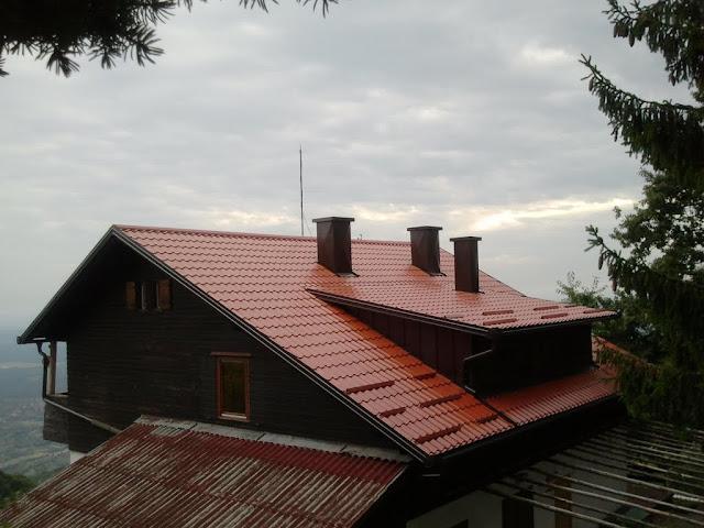 Obnova krovišta na planinarskom domu Žitnica na Japetiću