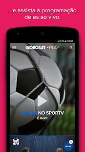 Globosat Play: Programas de TV - náhled