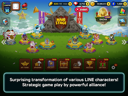 LINE Rangers 5.2.2 screenshots 7