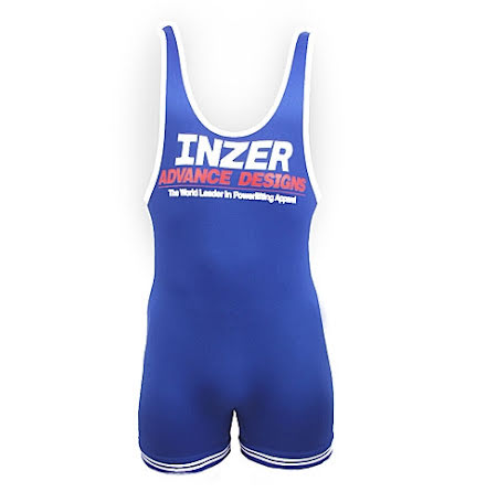 Inzer Lifting Singlet- Royal Blue