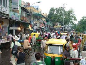 Photo: Old Delhi - traffic jam