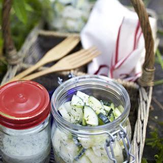 Cucumber and Melon Salad