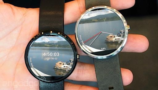 Wear.Webcam Watchface