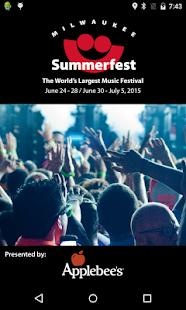 Summerfest 2015 - screenshot thumbnail