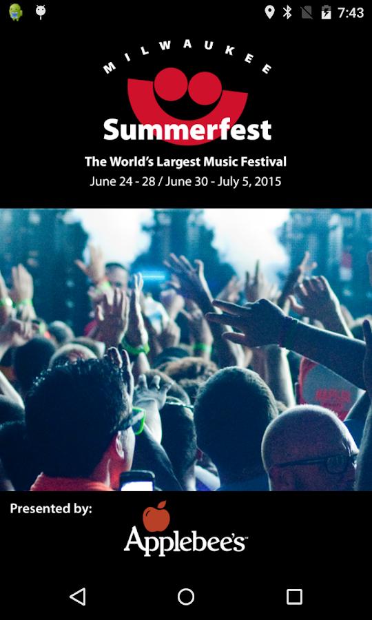 Summerfest 2015 - screenshot