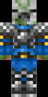 a pigman in armor