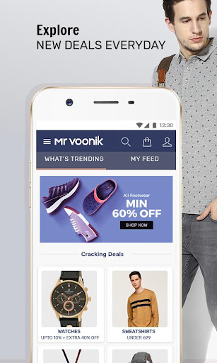 83a714ac12f Mr Voonik - Online Shopping App screenshot 1 ...