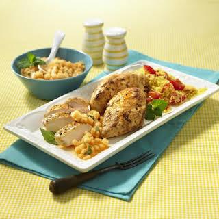 Chicken Breast with Melon Salsa.