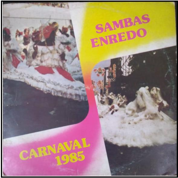 LP de 1985 - Acervo de João Perigo