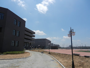 Photo: This is because the school is being rebuilt in Kangbashi. The complex holds an elementary, middle, and high school, all geared specifically towards children who are ethnically Mongolian.