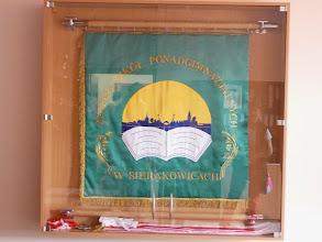 Photo: Emblema de l'escola