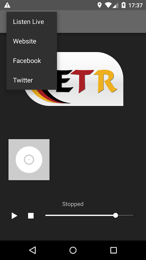 ETR.FM- screenshot
