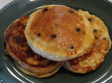Fluffy Lemon-blueberry Pancakes Recipe