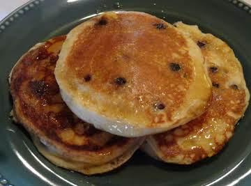 Fluffy Lemon-Blueberry Pancakes