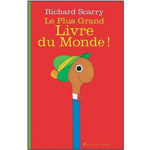Le plus grand livre du monde, Sélection jeunesse de Clémentine