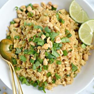 "Thai Cauliflower Fried ""Rice"""