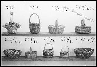 Photo: Prawdopodobnie zdjęcie reklamowe lub katalogowe rudnickich wyrobów koszykarskich (skan zdjęcia z archiwum Rodziny Skoczylasów)