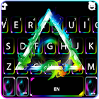 Thème de clavier Smoky Hipster Triangle icon