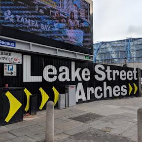 ロンドン最大の合法グラフィティ・トンネル「Leake Street」