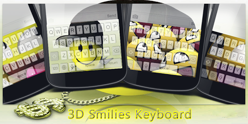 3D Smilies Keyboard